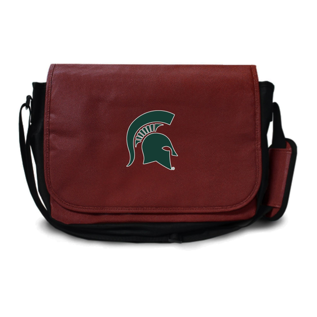 Michigan State Spartans Football Messenger Bag