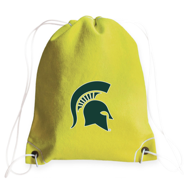 Michigan State Spartans Tennis Drawstring Bag