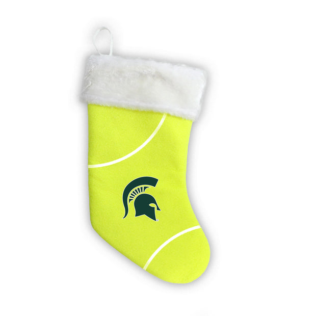 "Michigan State Spartans 18"" Tennis Christmas Stocking"