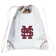 Mississippi State Bulldogs Baseball Drawstring Bag