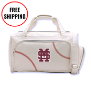 Mississippi State Bulldogs Baseball Duffel Bag