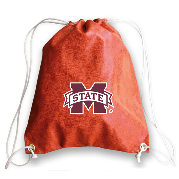 Mississippi State Bulldogs Basketball Drawstring Bag