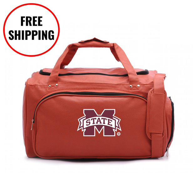 Mississippi State Bulldogs Basketball Duffel Bag
