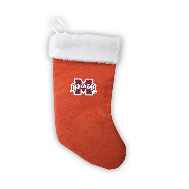 "Mississippi State Bulldogs 18"" Basketball Christmas Stocking"