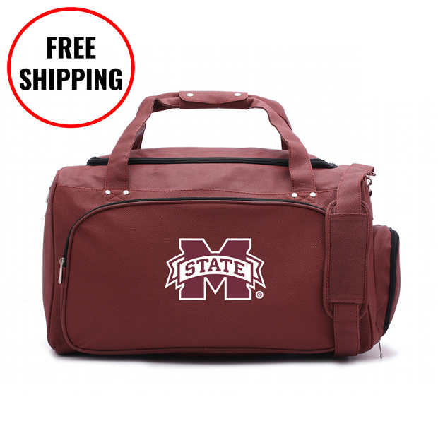 Mississippi State Bulldogs Football Duffel Bag