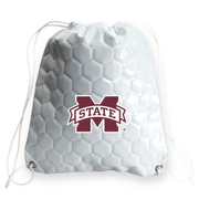 Mississippi State Bulldogs Soccer Drawstring Bag