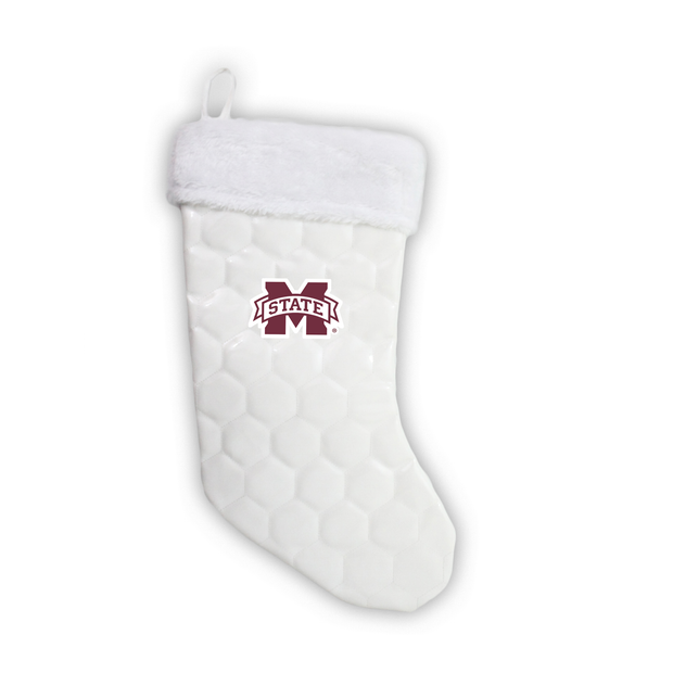 "Mississippi State Bulldogs 18"" Soccer Christmas Stocking"