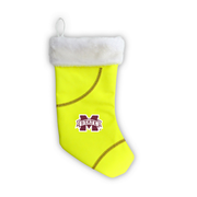 "Mississippi State Bulldogs 18"" Softball Christmas Stocking"
