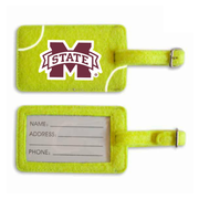 Mississippi State Bulldogs Tennis Luggage Tag