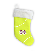 "Mississippi State Bulldogs 18"" Tennis Christmas Stocking"