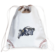 Navy Midshipmen Baseball Drawstring Bag