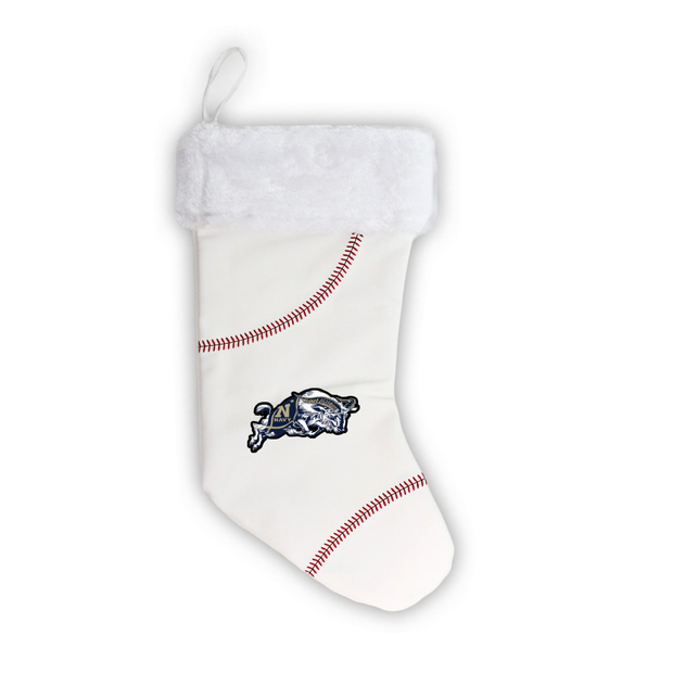 "Navy Midshipmen 18"" Baseball Christmas Stocking"