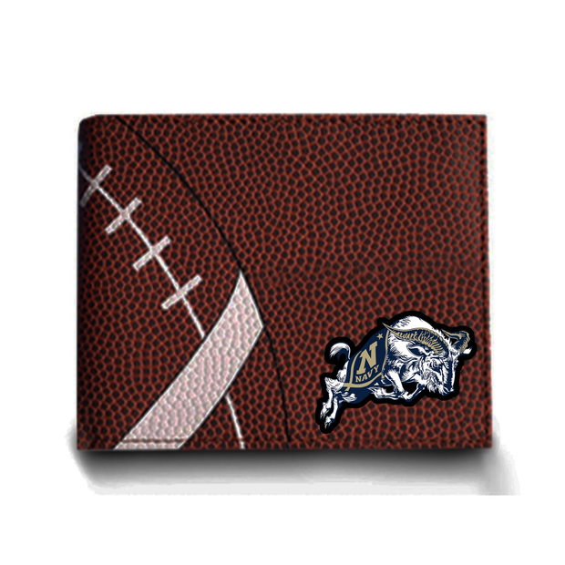 Navy Midshipmen Football Men's Wallet