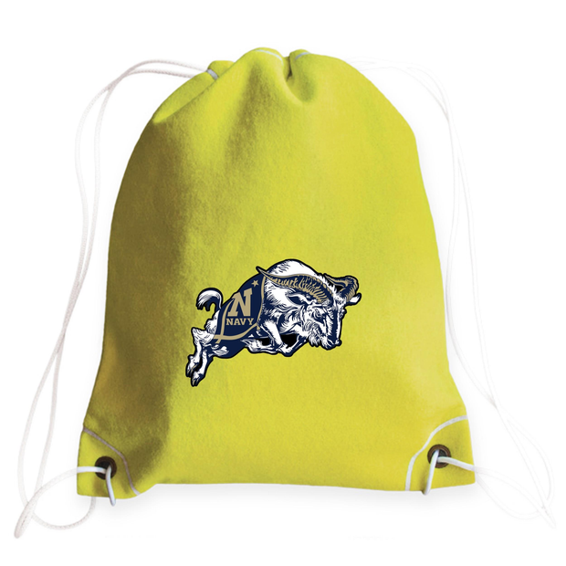 Navy Midshipmen Tennis Drawstring Bag