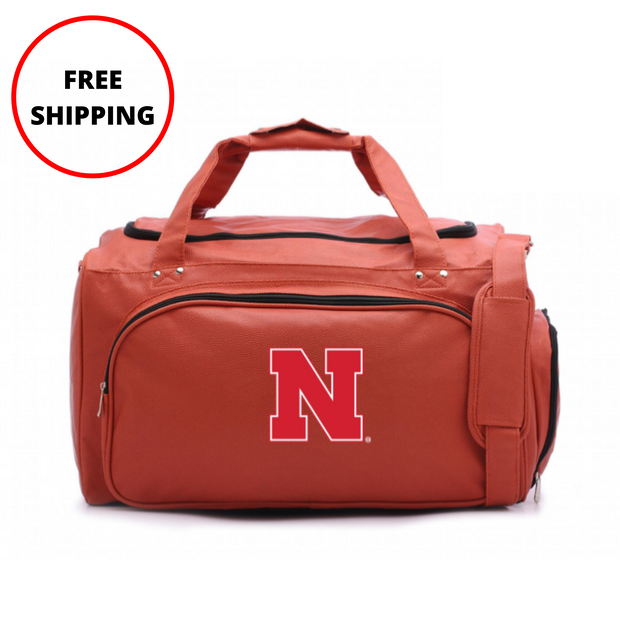 Nebraska Cornhuskers Basketball Duffel Bag
