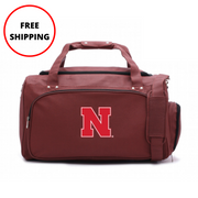 Nebraska Cornhuskers Football Duffel Bag
