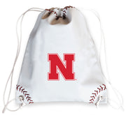 Nebraska Cornhuskers Baseball Drawstring Bag
