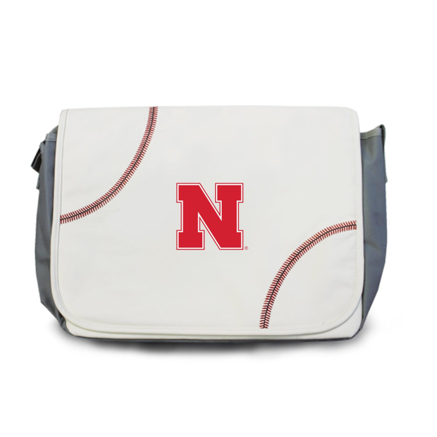 Nebraska Cornhuskers Baseball Messenger Bag