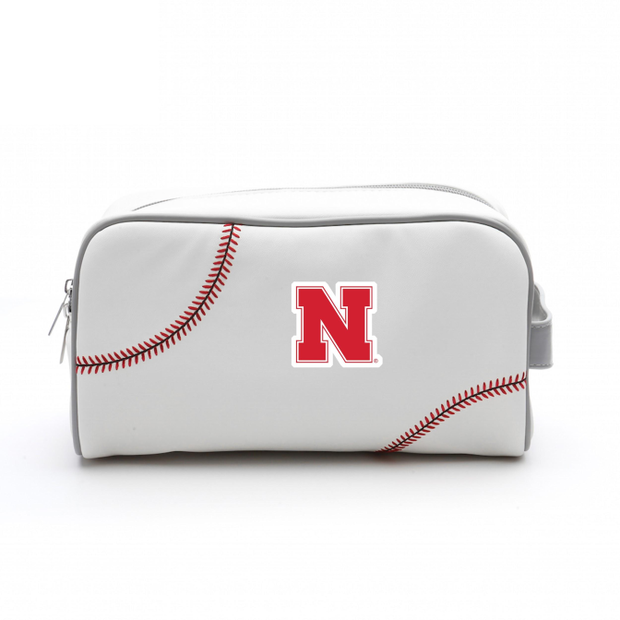 Nebraska Cornhuskers Baseball Toiletry Bag