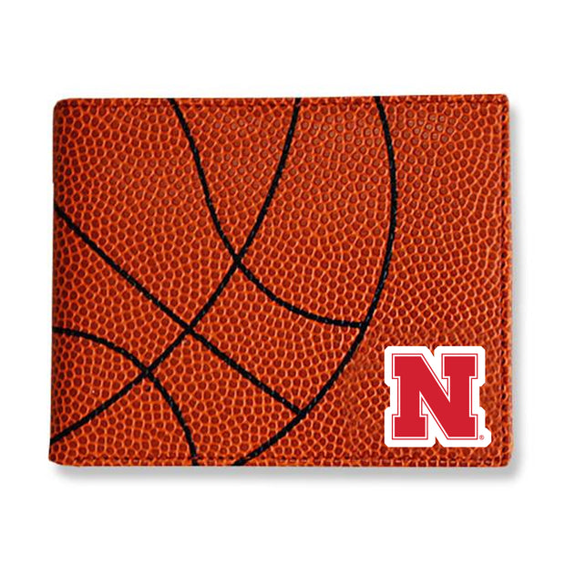 Nebraska Cornhuskers Basketball Men's Wallet