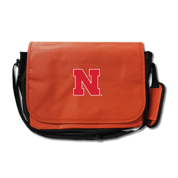 Nebraska Cornhuskers Basketball Messenger Bag