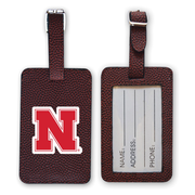 Nebraska Cornhuskers Football Luggage Tag