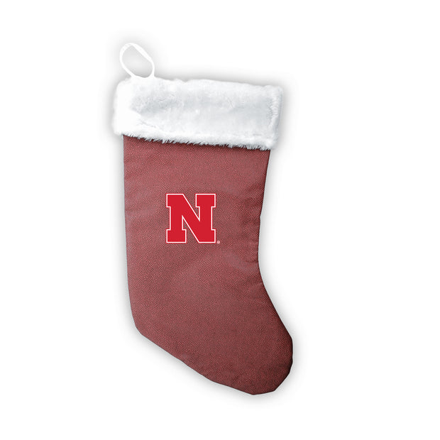 "Nebraska Cornhuskers 18"" Football Christmas Stocking"