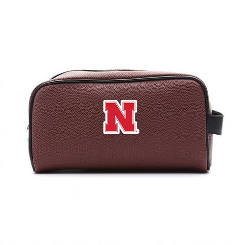 Nebraska Cornhuskers Football Toiletry Bag