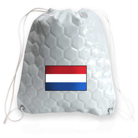Netherlands National Pride Soccer Drawstring Bag
