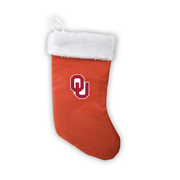 "Oklahoma Sooners 18"" Basketball Christmas Stocking"