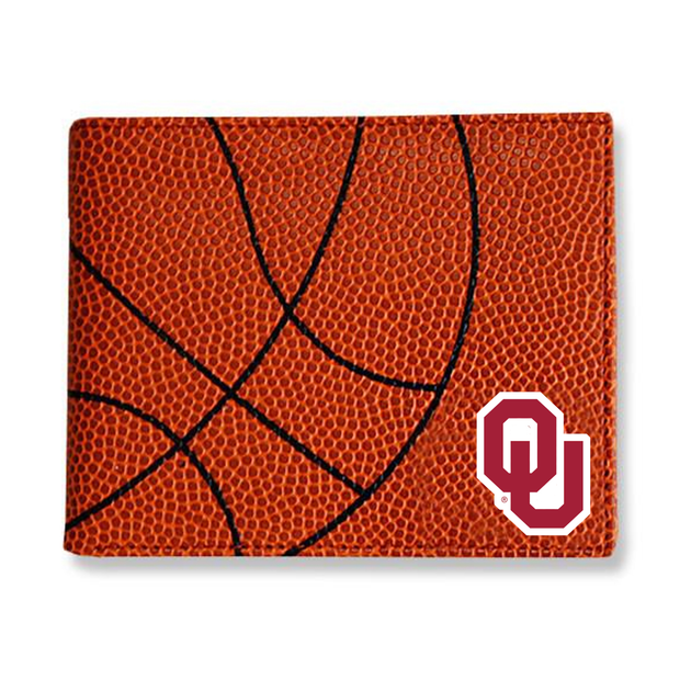 Oklahoma Sooners Basketball Men's Wallet