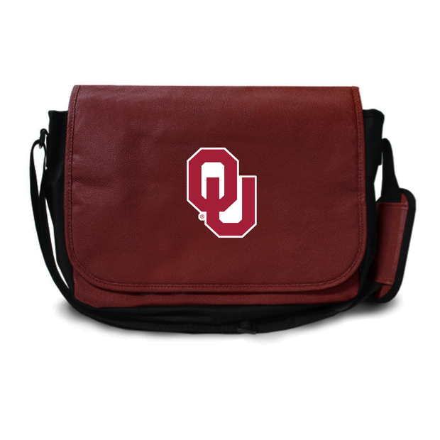 Oklahoma Sooners Football Messenger Bag