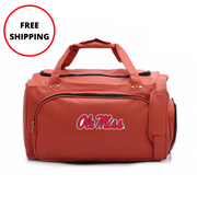 Ole Miss Rebels Basketball Duffel Bag