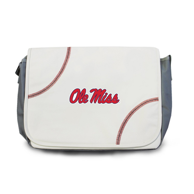 Ole Miss Rebels Baseball Messenger Bag