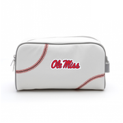 Ole Miss Rebels Baseball Toiletry Bag