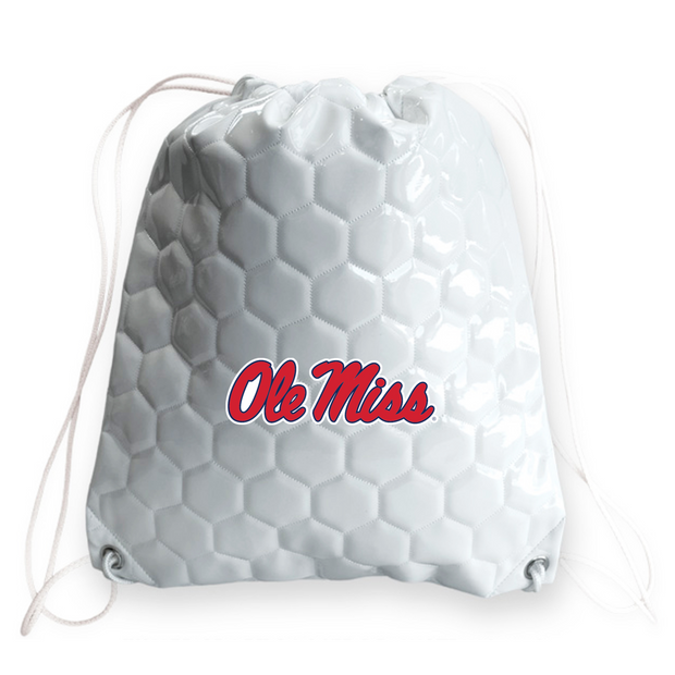 Ole Miss Rebels Soccer Drawstring Bag
