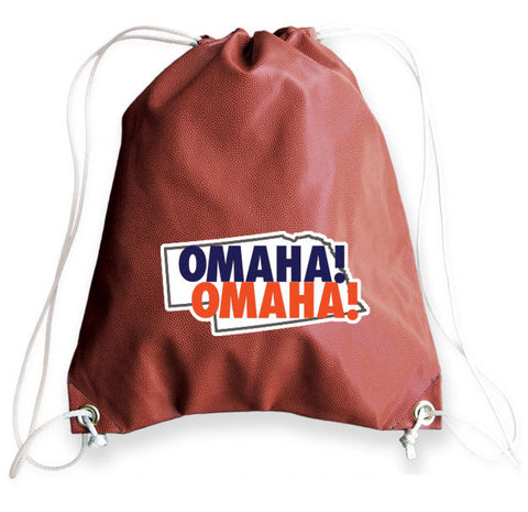 LIMITED EDITION Omaha Football Drawstring Bag