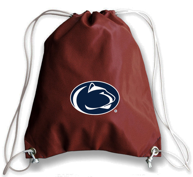 Penn State Nittany Lions Football Drawstring Bag