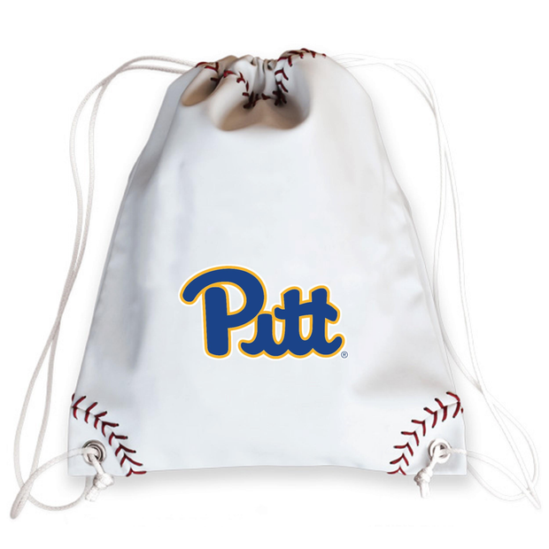 Pitt Panthers Baseball Drawstring Bag