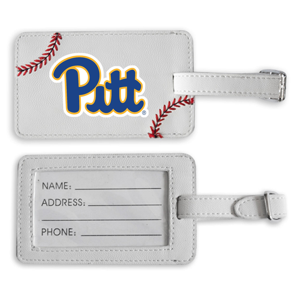 Pitt Panthers Baseball Luggage Tag