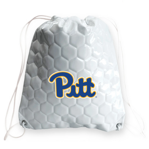 Pitt Panthers Soccer Drawstring Bag