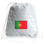 Portugal national team soccer drawstring bag
