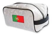 Portugal national team soccer travel toiletry bag