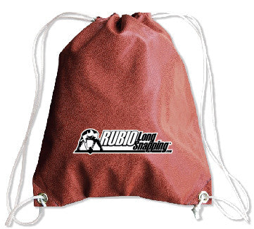 Rubio Long Snapping Football Drawstring Bag