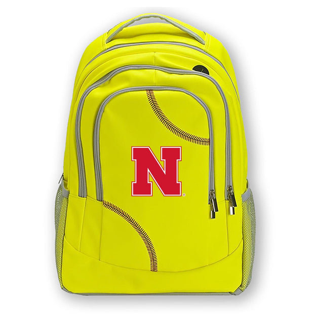 Nebraska Cornhuskers Softball Backpack