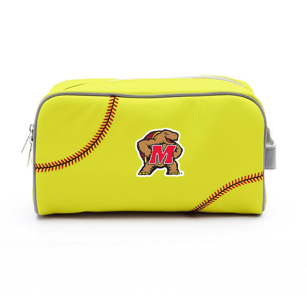 Maryland Terrapins Softball Toiletry Bag