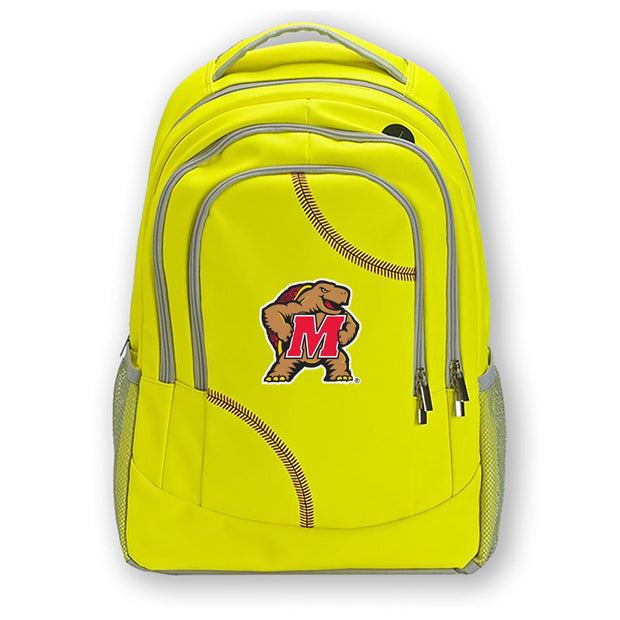 Maryland Terrapins Softball Backpack