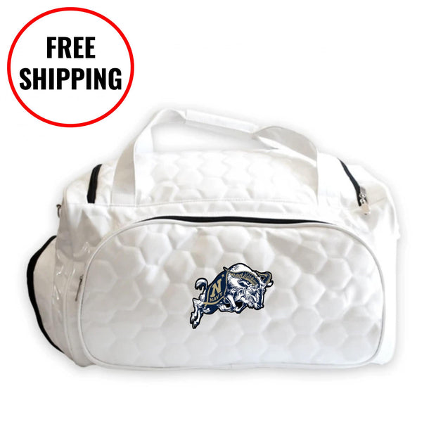 Navy Midshipmen Soccer Duffel Bag