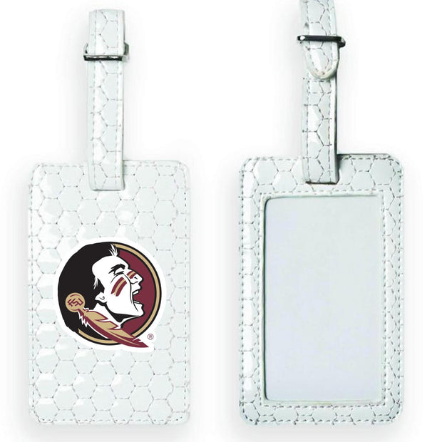 Florida State Seminoles Soccer Luggage Tag