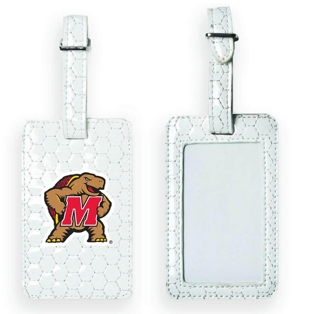 Maryland Terrapins Soccer Luggage Tag